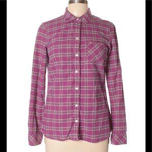Eddie Bauer Long Sleeve Button-Down Shirt